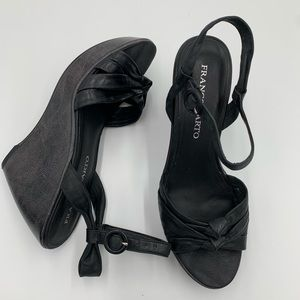 Franco Sarto open toe wedge sandal